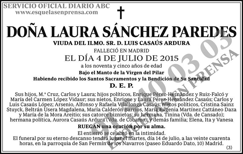 Laura Sánchez Paredes